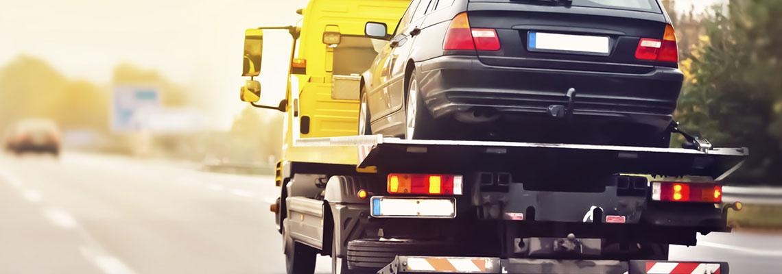 enlèvement de voiture